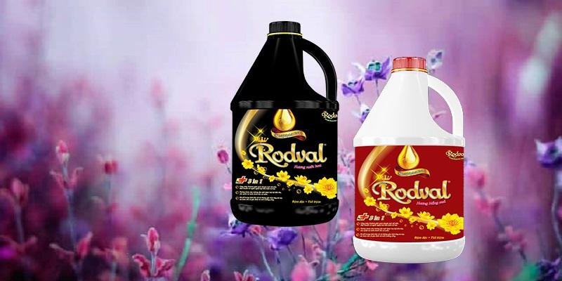 Nước giặt hương tự nhiên Rodval