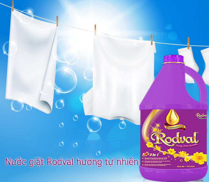 nước giặt rodval hương tự nhiên